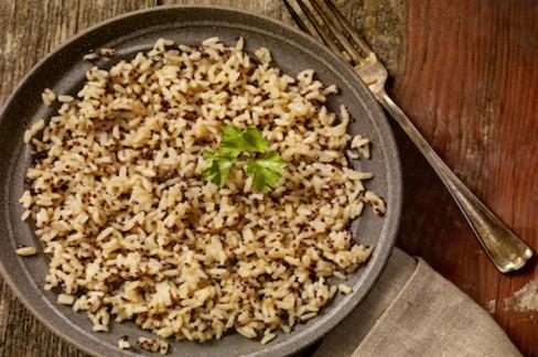 Normal brown rice