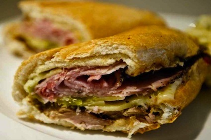 Normal cuban pork sandwich
