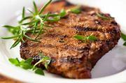 Block grilled pork chop