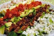 Block chicken cobb salad