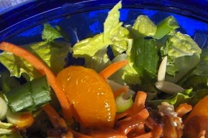 Normal asian chicken salad