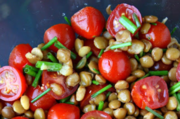 Block garden lentil salad